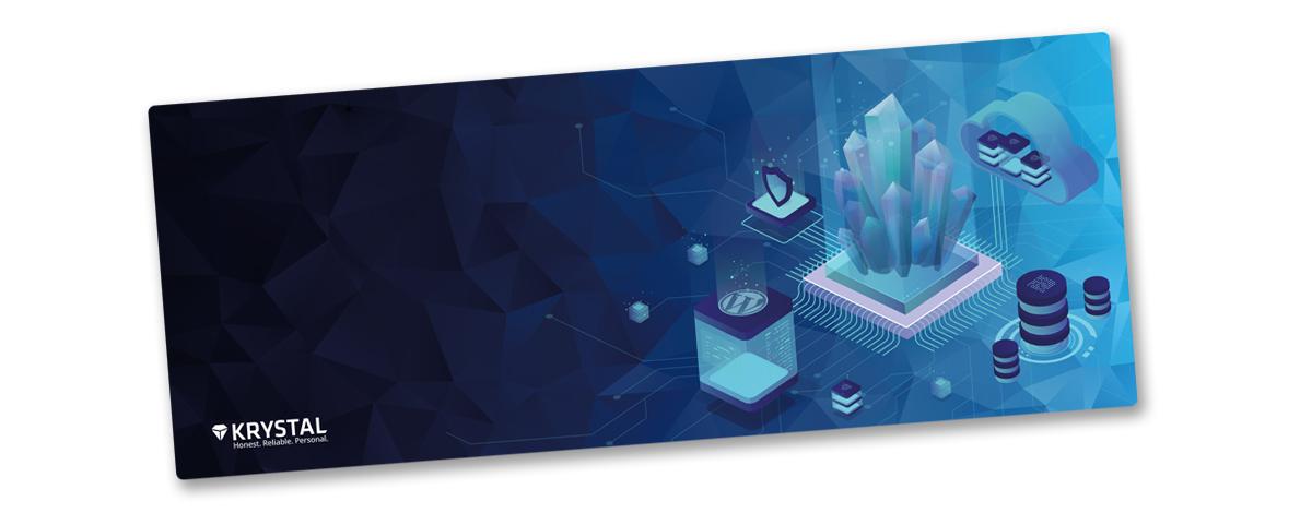 Krystal mousemat