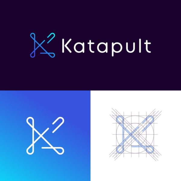 Katapult logo design