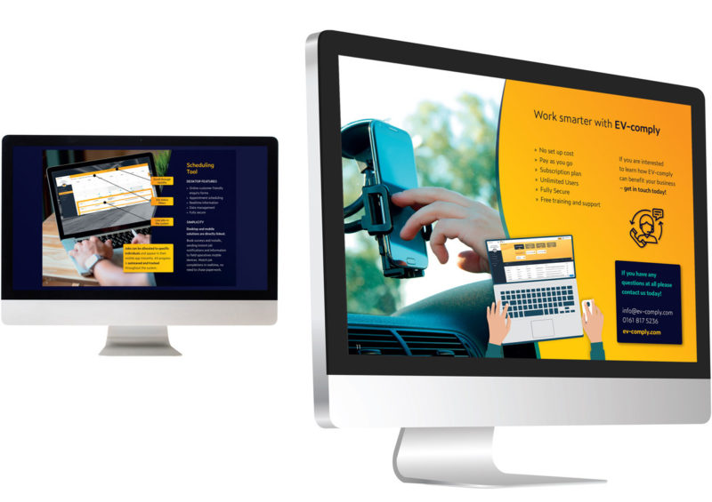 EV-comply onscreen brochure
